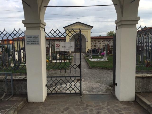 Nuovi interventi al cimitero