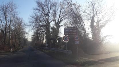 Nuovi cartelli: Cavernago paese dei due castelli